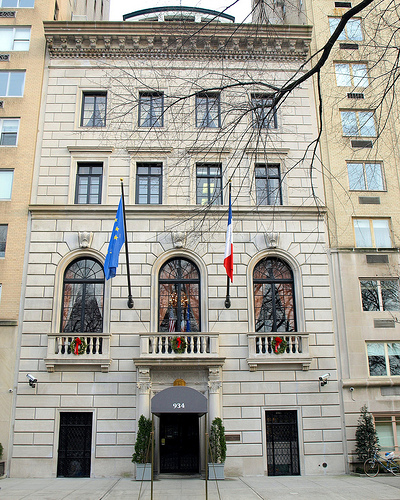 Facade of 934 Fifth Avenue